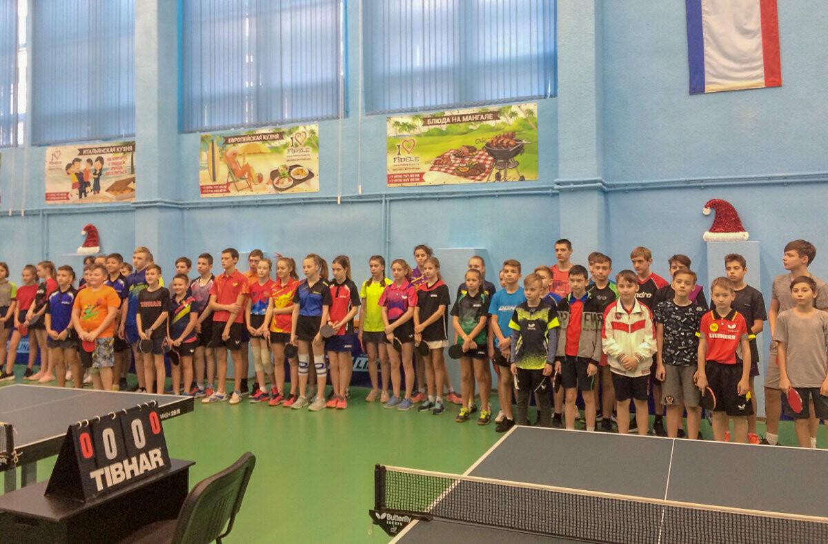 В Ялте прошли традиционные «Рождественские игры» по настольному теннису, фото-5