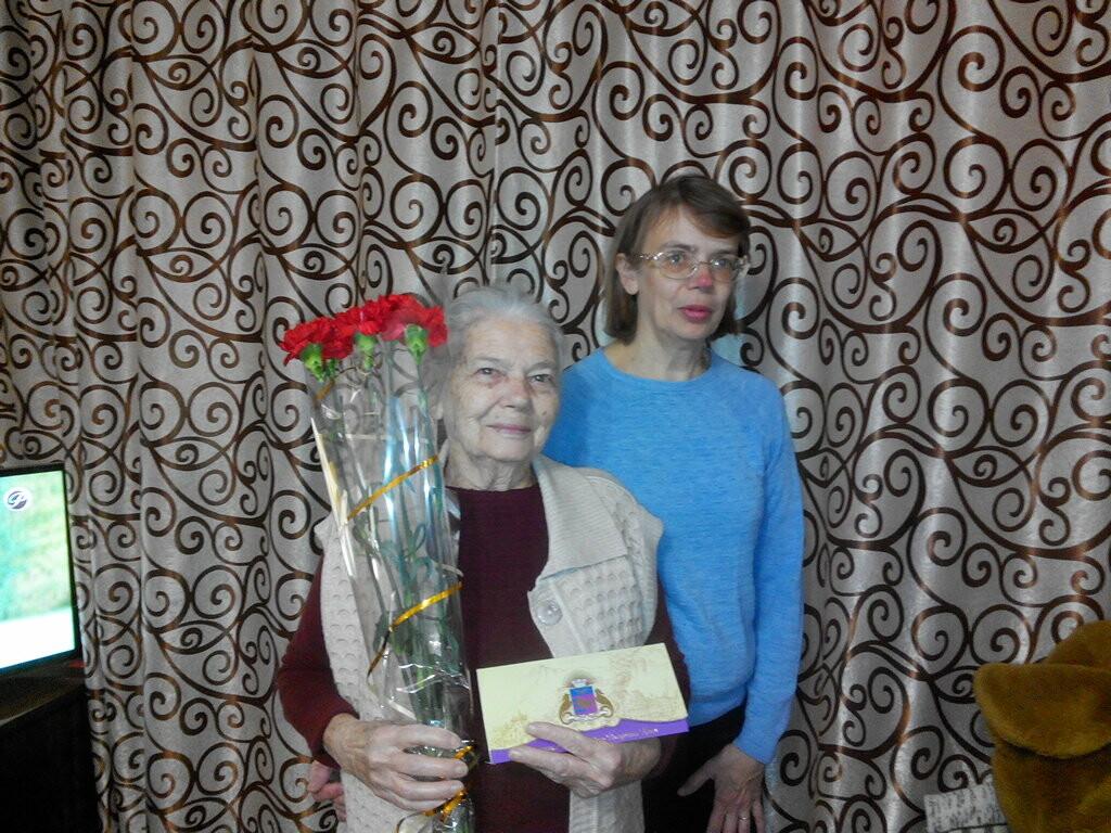 Жители Ялты получили поздравления с 90-летними юбилеями, фото-4