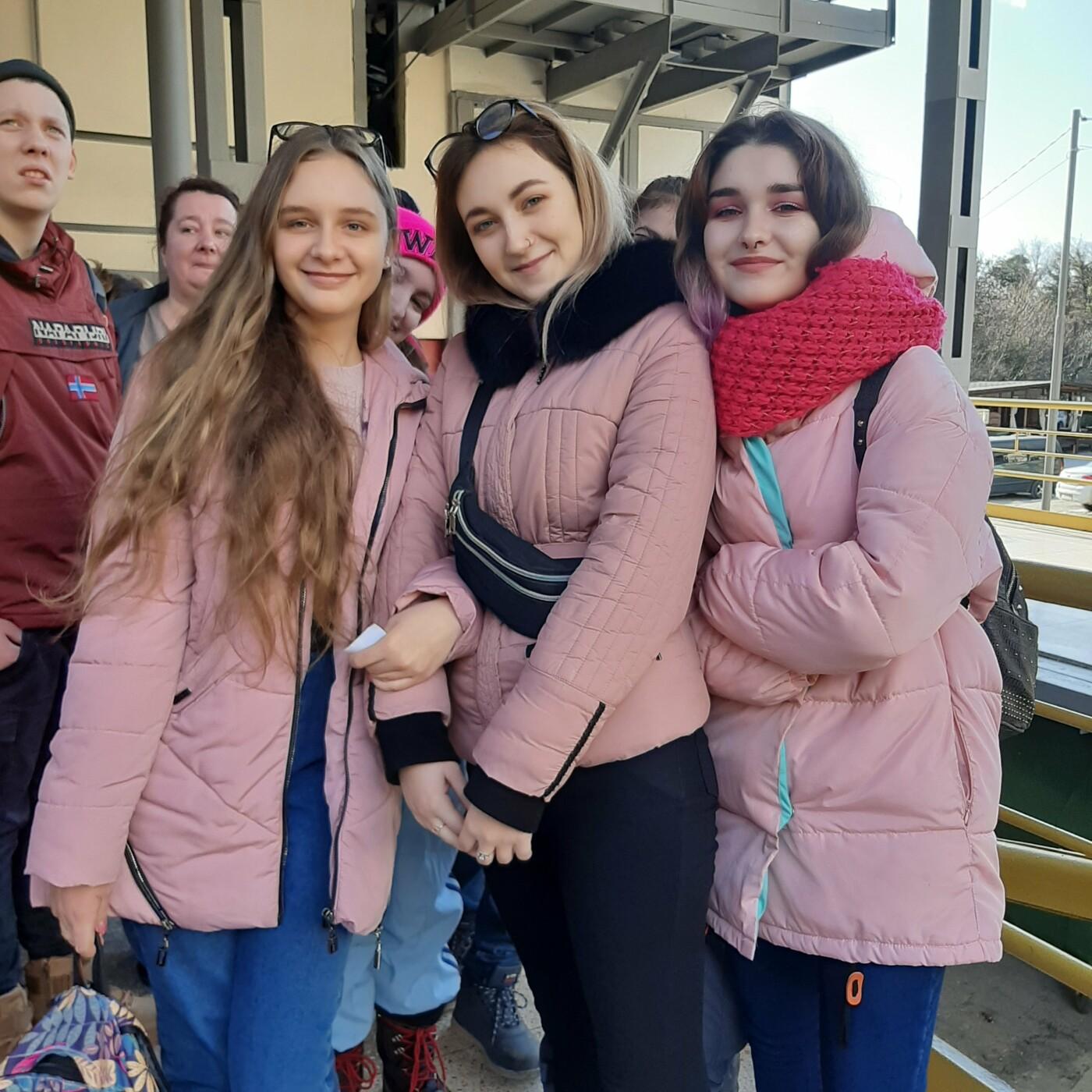 Дети Ялты поприветствовали жителей Альп с вершины Ай-Петри, фото-2