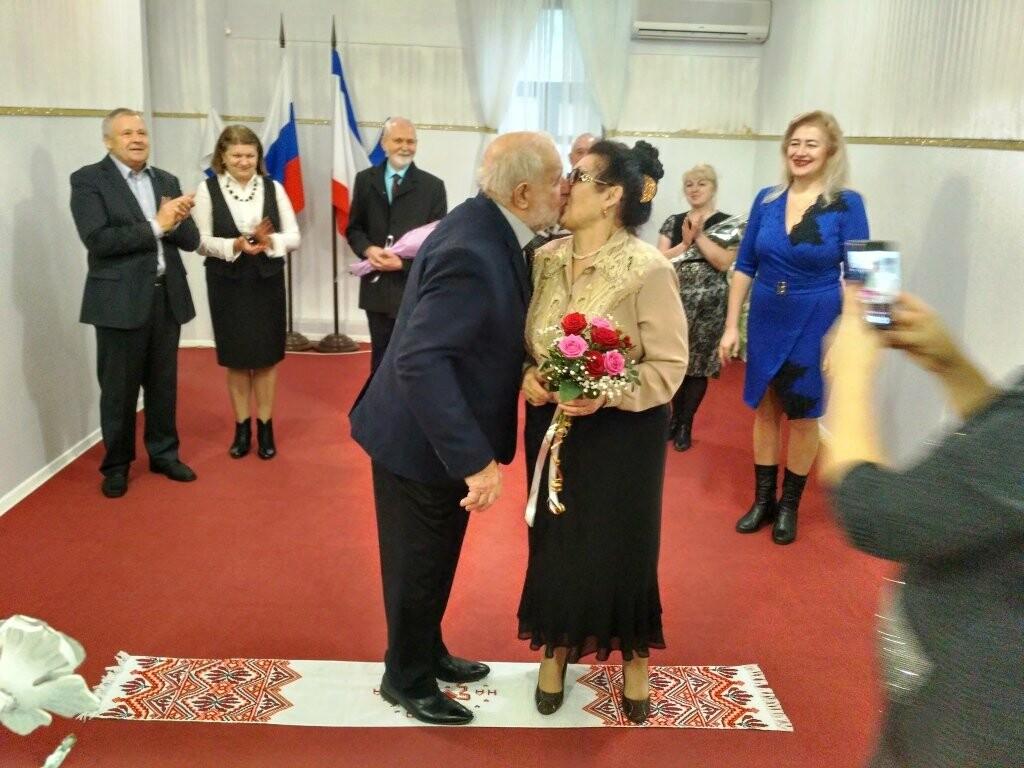 Семью Наумкиных из Ялты поздравили с 50-летним юбилеем бракосочетания, фото-2