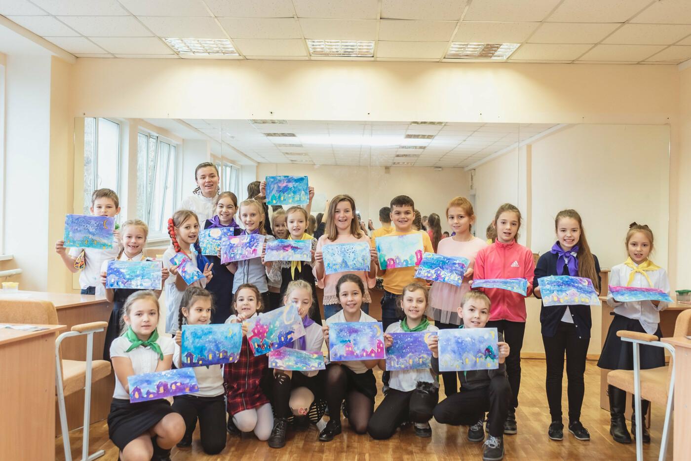 В Ялтинской школе № 1 для школьников провели художественный мастер-класс, фото-4