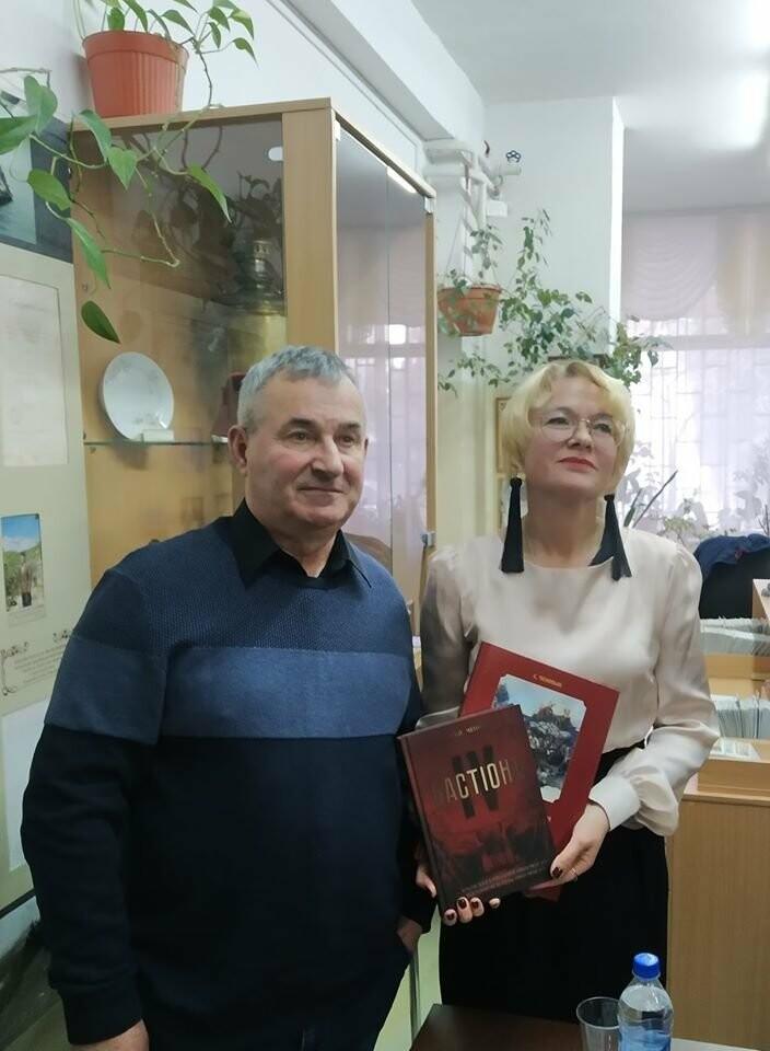 В Кореизе провели встречу с Сергеем Ченныком, редактором журнала «Military Крым», фото-1