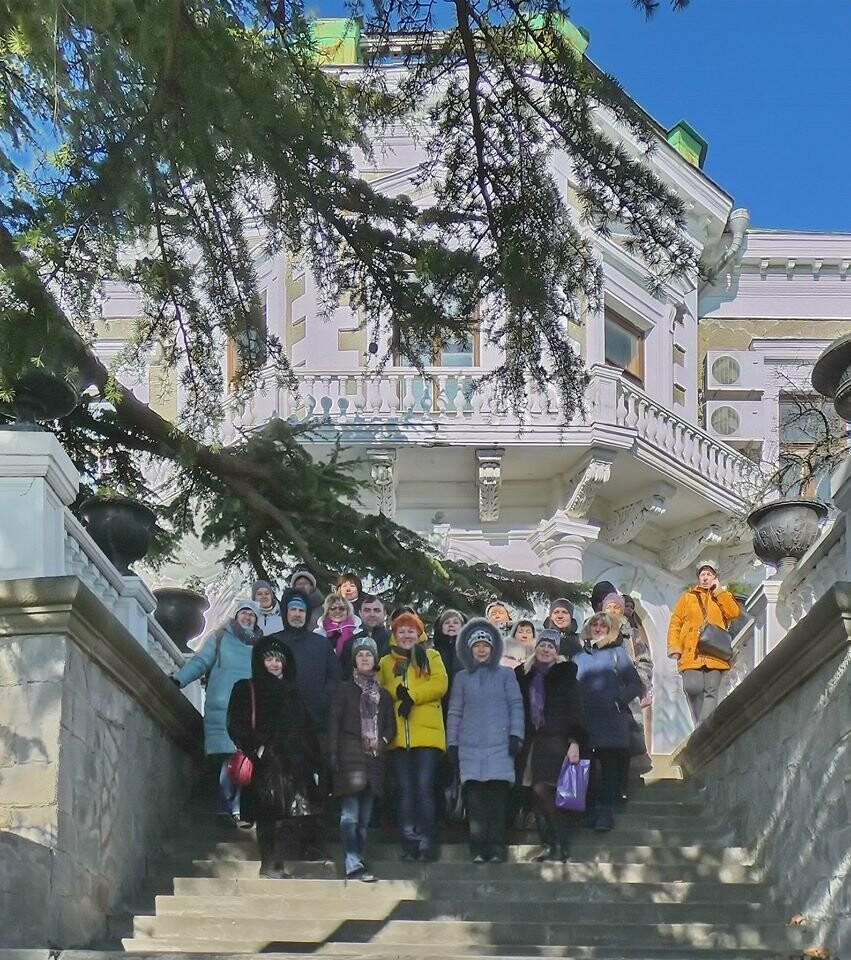 Алупкинский экскурсионно-методический центр «Таврика» побывал в Форосском царстве, фото-2