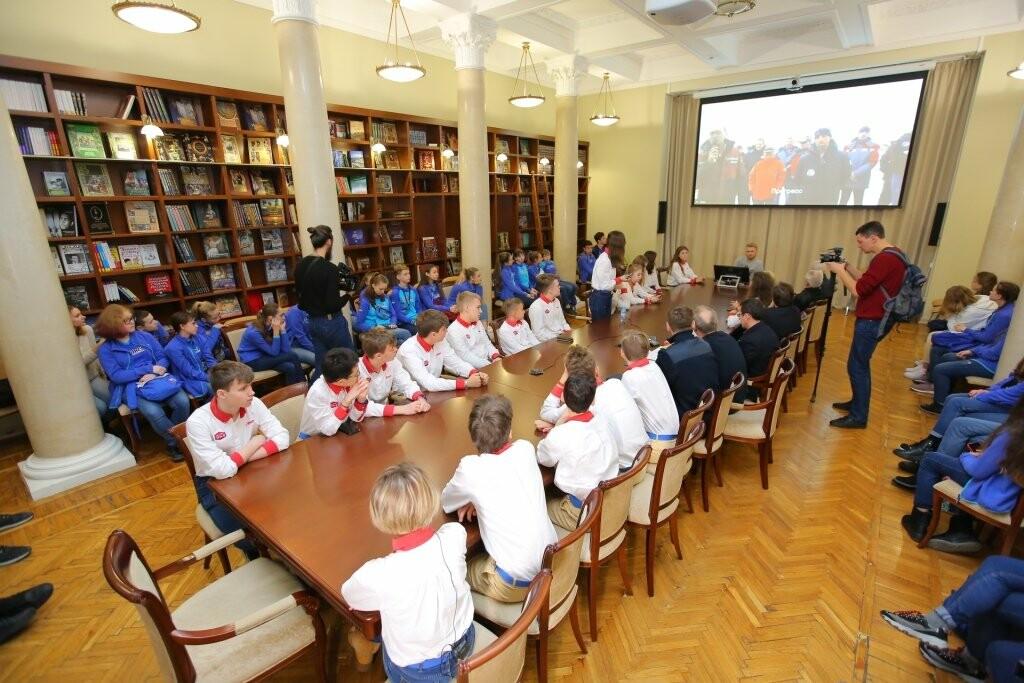 Артековцы связались в режиме телемоста с российской антарктической станцией «Прогресс», фото-2