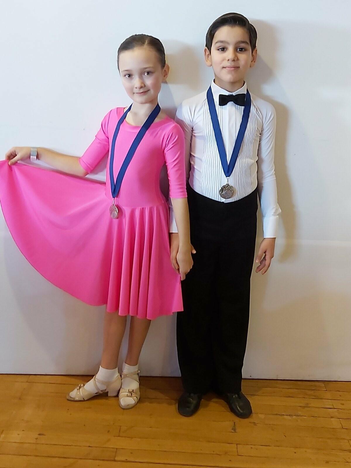 Ребята из «Спортивной школы № 6» Ялты успешно выступили на Первенстве РК по танцевальному спорту, фото-2