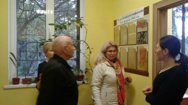 В архиве начала работу выставка  «75 лет Ялтинской конференции 4-11 февраля 1945 года», фото-1
