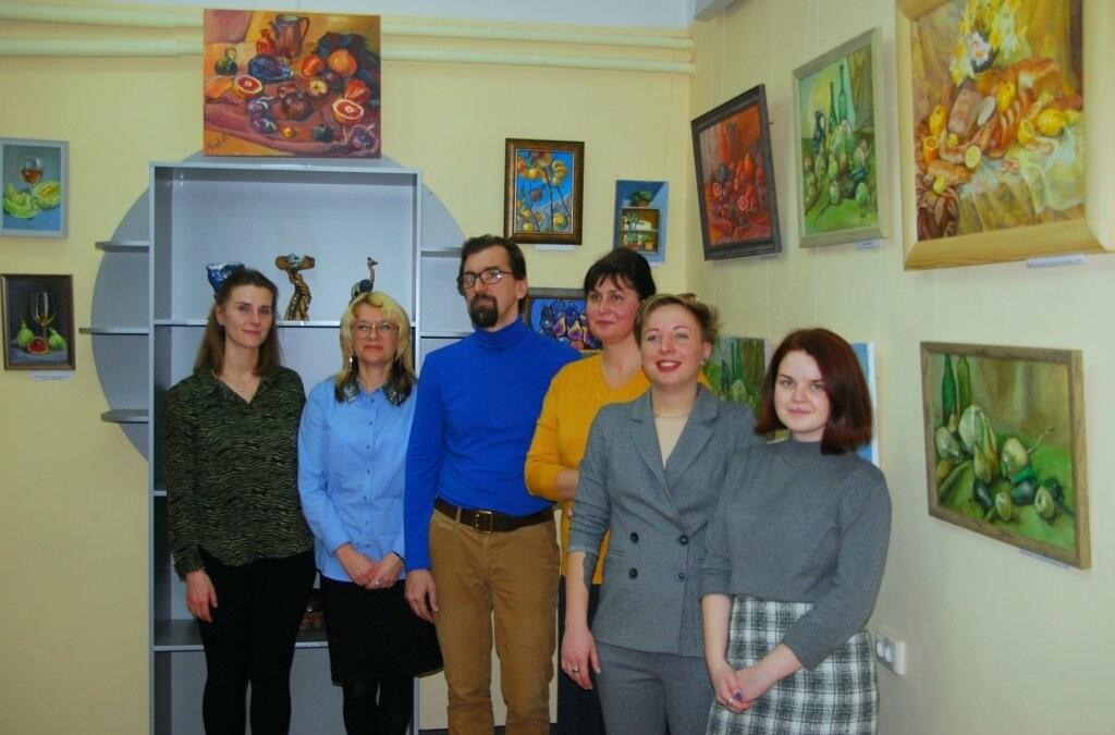 В Кореизе открылась выставка преподавателей Ялтинской художественной школы , фото-2