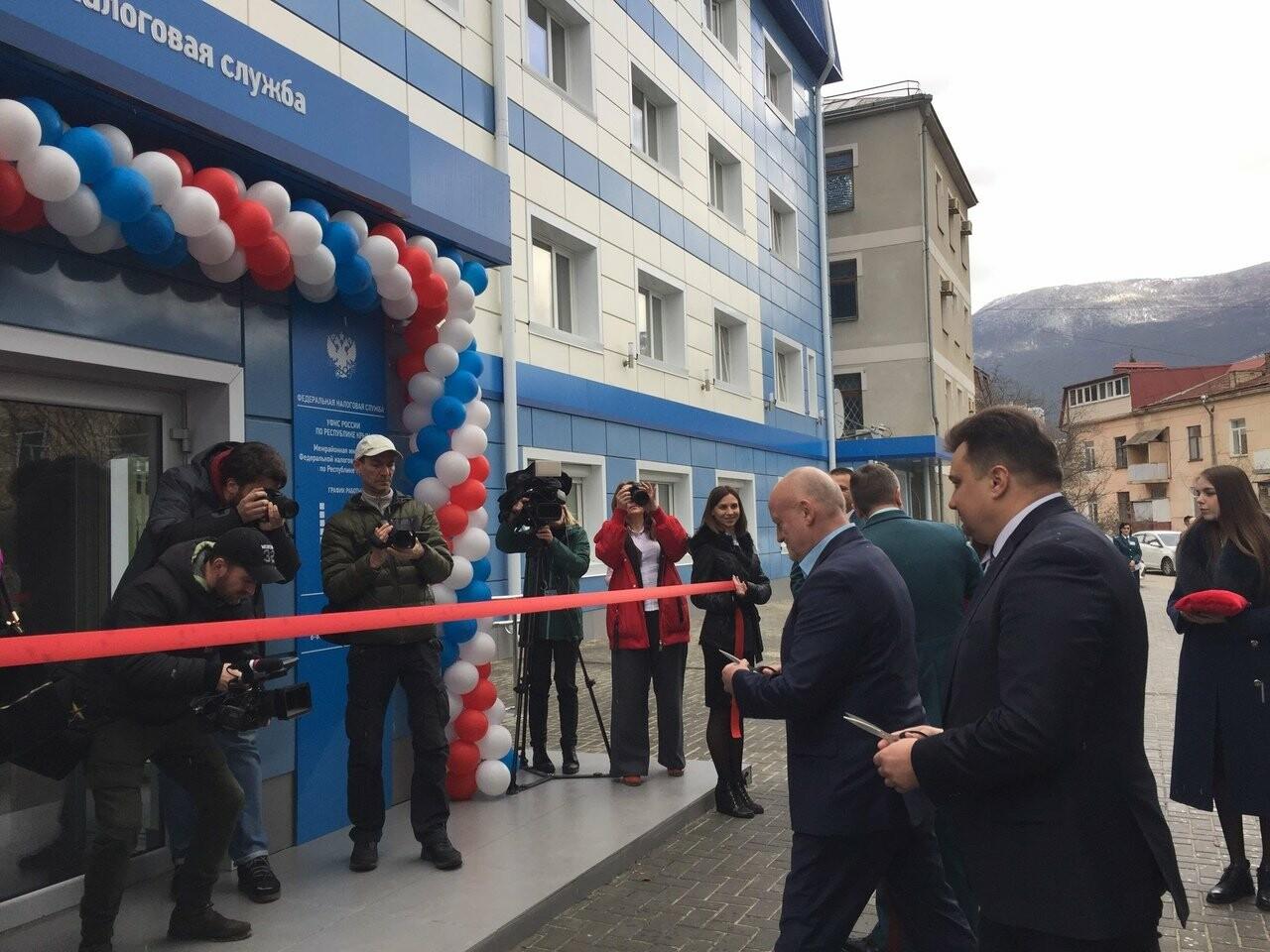 В Ялте после ремонта открылось здание налоговой инспекции, фото-3