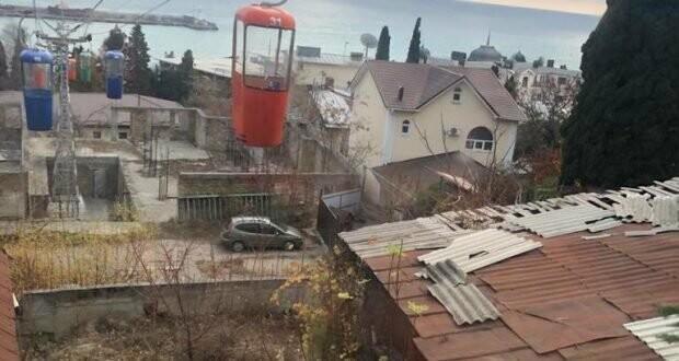 Неприглядные постройки под канатной дорогой в центре Ялты уберут, фото-2