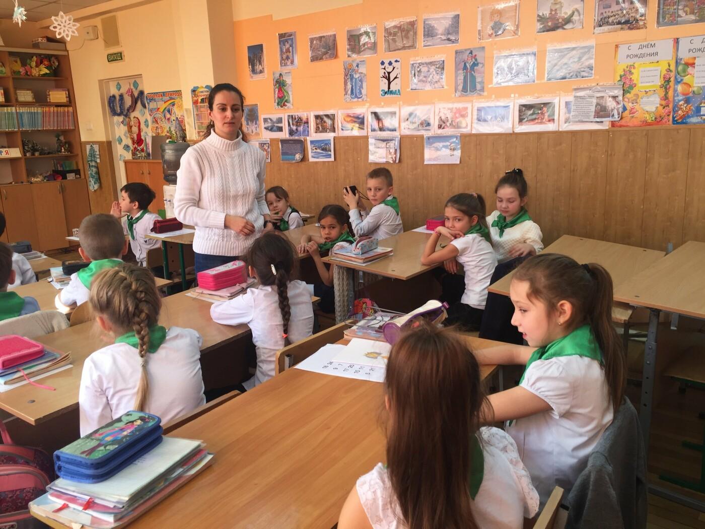В Ялтинской школе № 1 дети встретились с писателем Любовью Бросалиной , фото-1