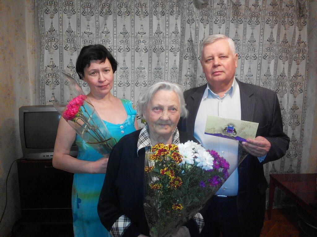 Жителей Ялты поздравили с 90-летними юбилеями, фото-1