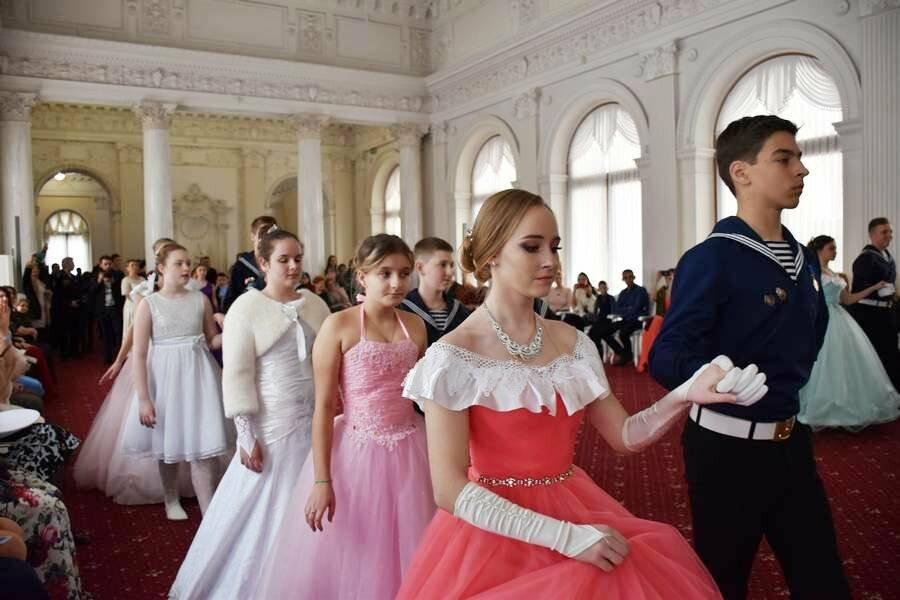 В Ливадийском дворце Ялты прошёл Второй Морской кадетский бал, фото-4