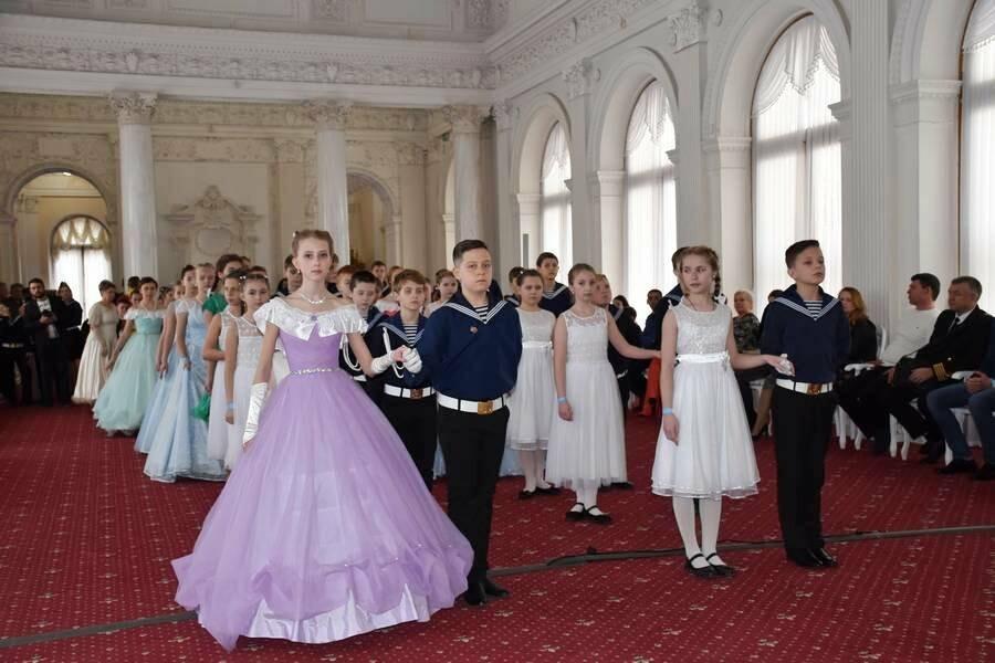 В Ливадийском дворце Ялты прошёл Второй Морской кадетский бал, фото-5