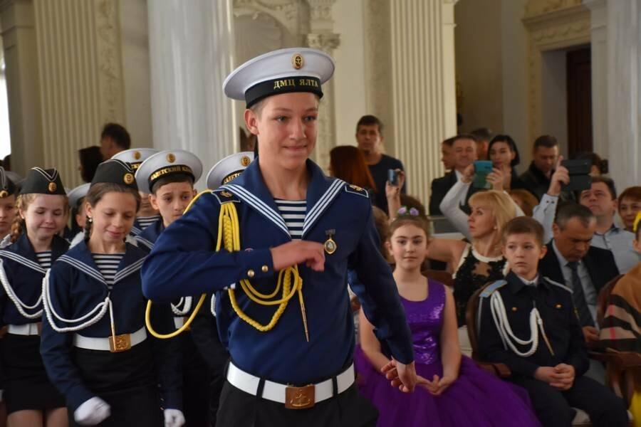 В Ливадийском дворце Ялты прошёл Второй Морской кадетский бал, фото-2