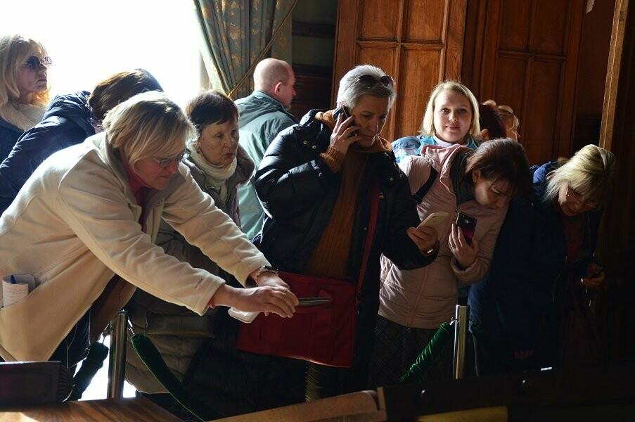 Экскурсоводы Алупкинского центра «Таврика» побывали в Воронцовском дворце, фото-5