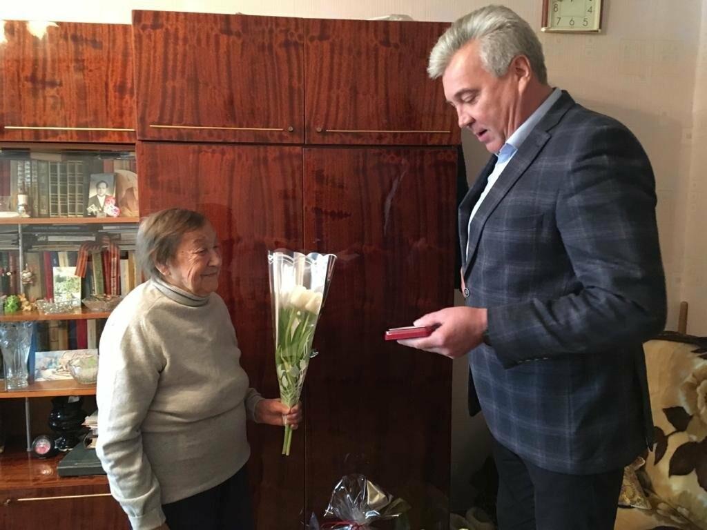 Ветеранам Ялты вручили юбилейные медали в честь 75-летия Победы в ВОВ, фото-7