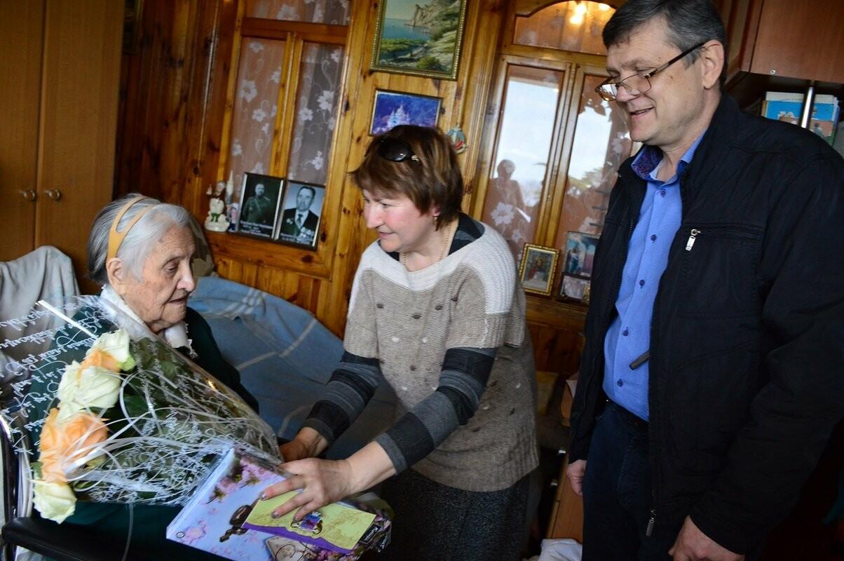В Гаспре с 95-летием поздравили долгожительницу посёлка Ульяну Мартыненко, фото-1