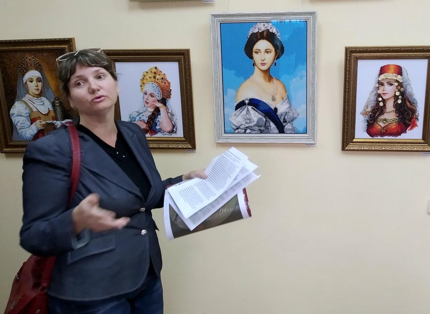 В Кореизе открылась  выставка  эксклюзивных работ  местных рукодельниц, фото-7