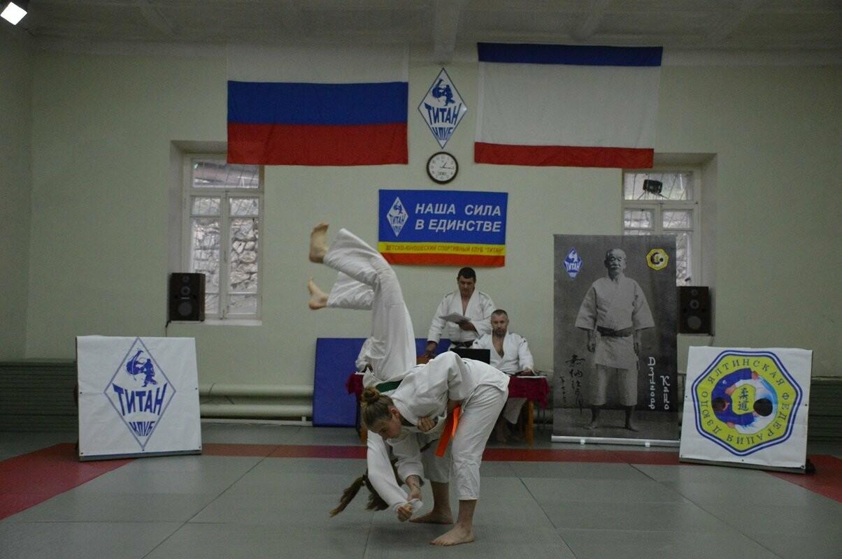 В Гаспре провели аттестацию дзюдоистов  на 4 и 5 КЮ, фото-1