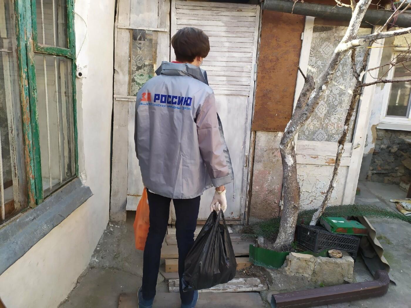 В Крыму волонтеры помогают пожилым и маломобильным гражданам на период эпидемии коронавируса, фото-3