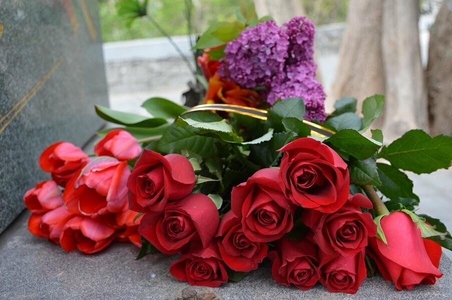 Гаспра отметила День освобождения Ялты возложением цветов монументу Героям-освободителям, фото-3