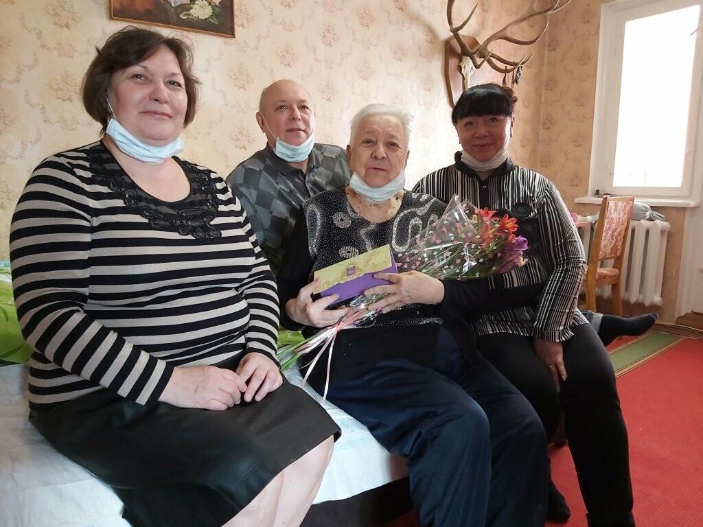 Жительницу Ялты  Маргариту Макарову поздравили с 90-летним юбилеем , фото-2
