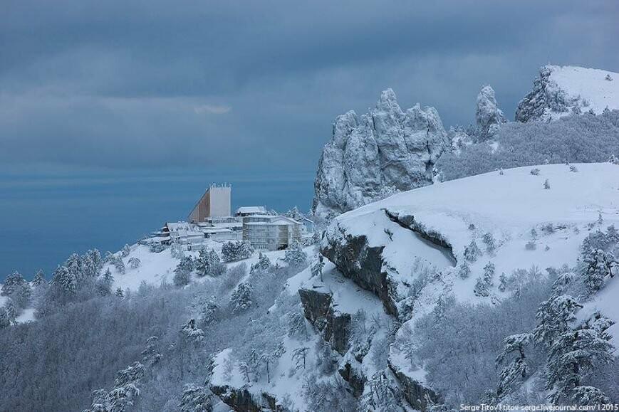 Ялтинская зимняя сказка- 2015 в фотографиях (фото) - фото 5