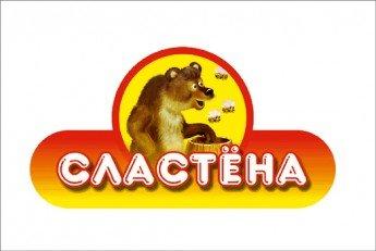 Логотип - Сластёна, магазин-кафетерий