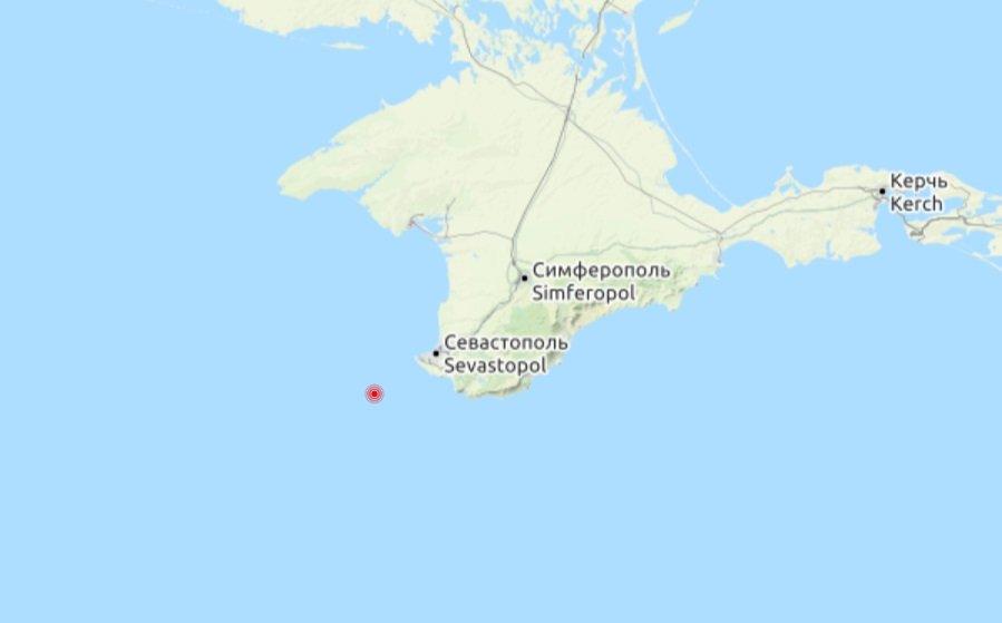 У берегов Крыма зафиксировано землетрясение , фото-1